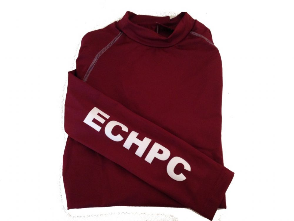 Adults Enfield Chace Burgundy Base Layer